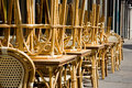 Free Rattan Chairs And Tables Royalty Free Stock Photography - 2163907