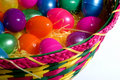 Free Colored Easter Eggs With Baske Stock Photo - 2169910