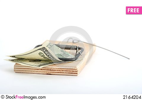 Free Uneasy Money Stock Images - 2164204