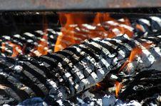 Free Burning Embers Stock Photo - 2160220