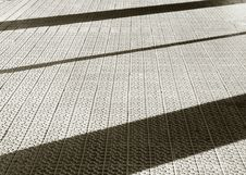 Lines And Shadows Royalty Free Stock Photography