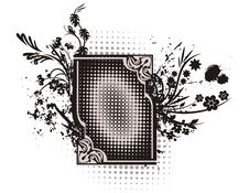 Free Floral Grunge Frame Series Stock Photos - 2160533
