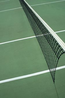 Free Tennis Court Net Stock Images - 2162734
