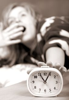Free I Hate Alarm Clocks Stock Photos - 2162853
