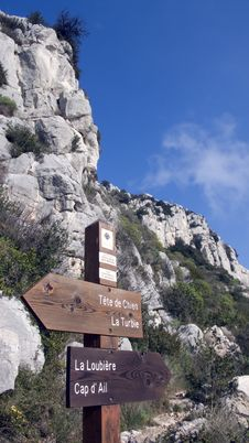 Free Mountain Path Royalty Free Stock Image - 2163256