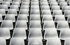 Free Stadium Seats Royalty Free Stock Photography - 2163687