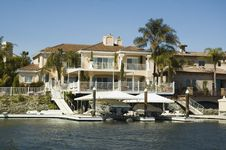 Free Executive House On The Water Stock Photos - 2163953