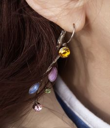 Free Earring Royalty Free Stock Images - 2164209