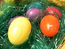Free Easter Eggs Close Up Royalty Free Stock Photo - 2164225