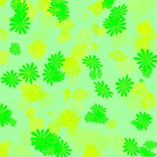 Free Green And Yellow Gift Wrap Royalty Free Stock Images - 2164879