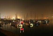 Free Gloomy Harbour Royalty Free Stock Photography - 2164957