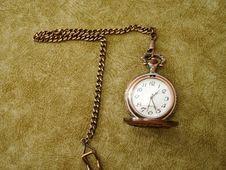 Free Old Golden Clock Stock Photos - 2165463