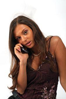 Call Girl Stock Image