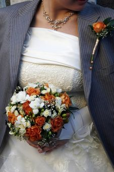 Free Bride With The Jacket Stock Photos - 2166213