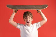 Free Skateboard Scream Stock Photos - 2166873