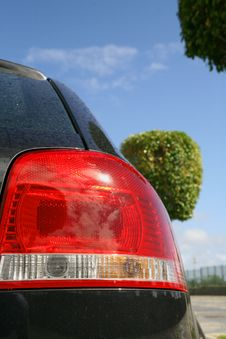 Free Car Back Lights Stock Image - 2167941