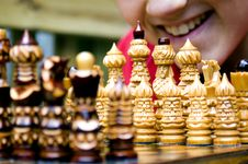 Free Young Chessmaster (Smiling) Stock Photo - 2169520