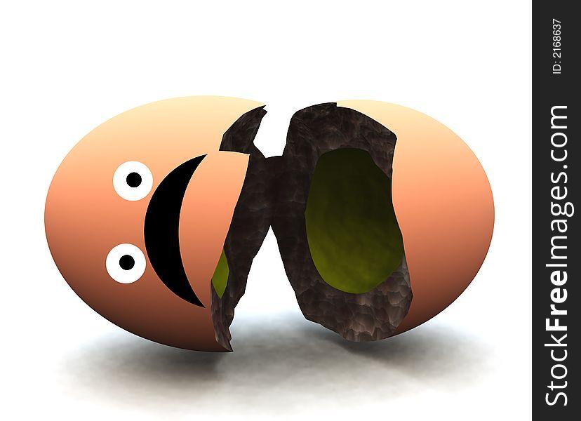 Broken Egg 35