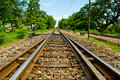 Free Railway In Thailand Royalty Free Stock Photography - 21609637