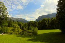 Free Alpine Landscape Stock Photography - 21603672