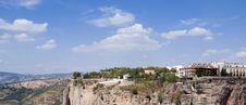 Free Mountainside Of Ronda Royalty Free Stock Image - 21605246