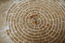 Free Abstraction-circle From Bricks Royalty Free Stock Images - 21605479