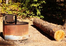 Free Campground Grill Stock Images - 21606104