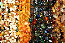Free Colorful Beads Background Stock Image - 21606231