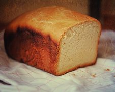 Free Home-made Bread Royalty Free Stock Photo - 21607025