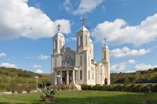 Church Of St. Andrew, Romania Royalty Free Stock Image