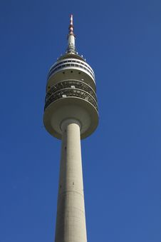 Free Munich Olympic Tower Royalty Free Stock Photography - 21609717