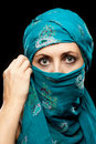 Free Mature Woman In Burqa Royalty Free Stock Photography - 21611907