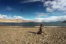 Free Himalayan Lake Royalty Free Stock Photos - 21612998