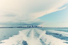 Free Ocean View Of Miami Royalty Free Stock Images - 21614809