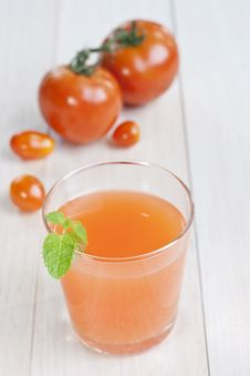 Free Tomatoes Juice Royalty Free Stock Image - 21615696