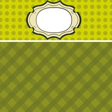 Free Cool Seamless Background Invitation Card Vector Stock Photos - 21618053