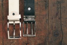 Free Belts On Wood Stock Photos - 21619253