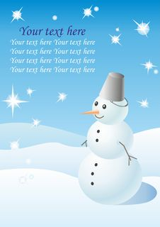 Free Snowman Stock Images - 21619934