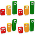 Free Clipart Bar Graphs Royalty Free Stock Images - 21620669