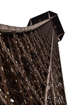 Eiffel Tower Upper Section. Royalty Free Stock Photography