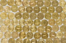 Background From Coins Stock Photos