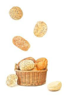 Free Bread Basket Royalty Free Stock Photo - 21627375