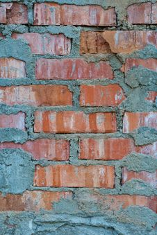 Free Old Brick Wall Royalty Free Stock Photography - 21629777