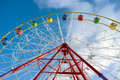Free Attraction Ferris Wheel Royalty Free Stock Photo - 21631245