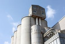 Free Industrial Storage Silo Stock Images - 21630614