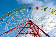 Attraction Ferris Wheel Royalty Free Stock Photo