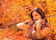 Autumn Music Royalty Free Stock Photos