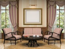Free Part Of The Modern Interior Royalty Free Stock Image - 21633646