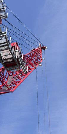 Free Red Crane Stock Photo - 21633740