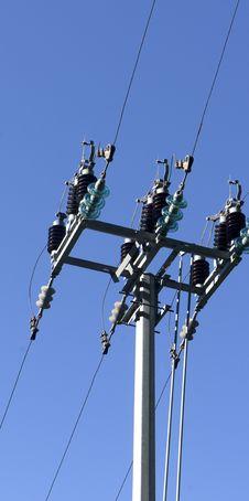 Free Electri Pylon Stock Photo - 21633790